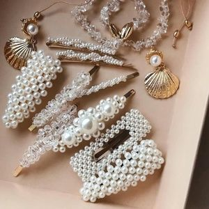 Accessories - Luxe Pearl Hair Clip Set of 5
